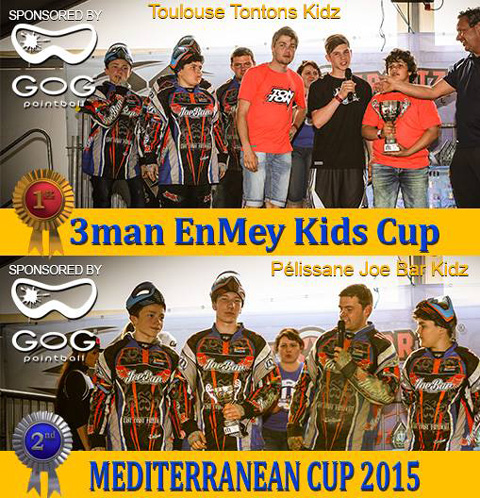 3-Man Enmey Cup