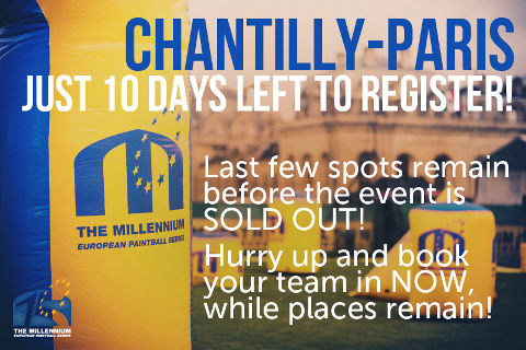 Only 10 days left to register for Chantilly