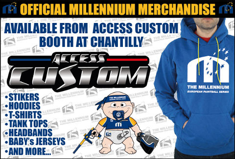 Official Millennium Merchandise @ Chantilly