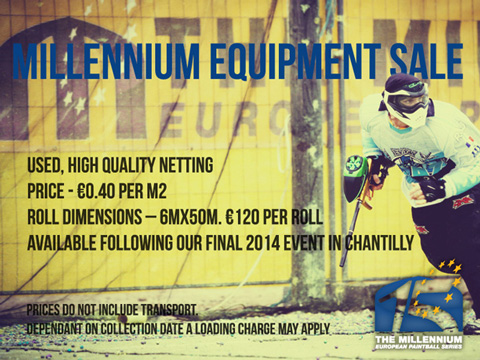 Millennium Equipment Sale: Netting
