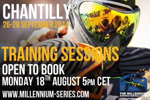Training booking Chantilly to open Monday