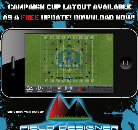 Field Designer App for Campaign Cup