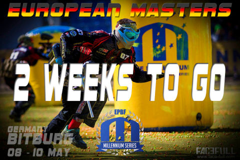 European Masters: only 2 weeks to go!