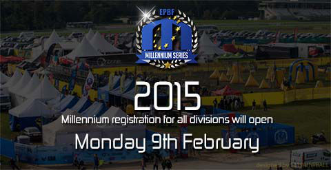 2015 Millennium registration for all Divisions will open Monday, 9th of February