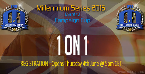 1 on 1 Championship registration will open Thursday @ 5pm CET