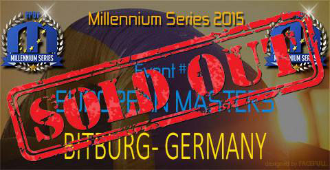 European Masters 2015 in Bitburg/Germany Sold Out