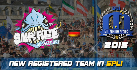 Enrage Dusseldorf plays Semiprofessional Paintball League 1 this season