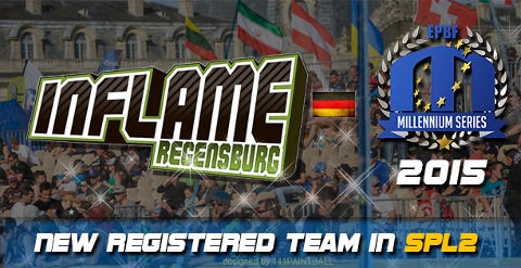 Inflame Regensburg to play Semiprofessional Paintball League 2
