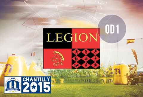 Legion playing Open Division 1 in Chantilly