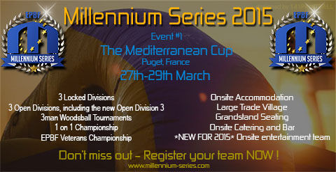 Event #1 – Mediterranean Cup.... Just 3 weeks left to Register!