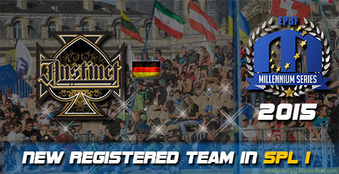 Ramstein Instinct playing the Semiprofessional Paintball League 1 in 2015