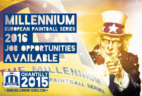 The Millennium Paintball Series are looking for Team Leaders for the 2016 season.