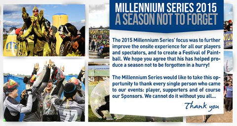 The Millennium Series says: thank you!