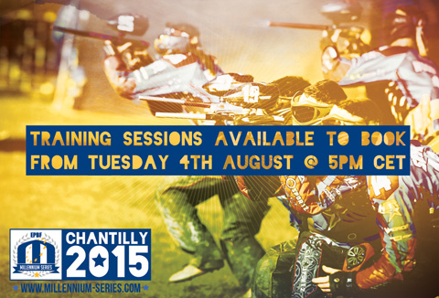 Training sessions registration opens Tuesday, 4rd of August 2015 at 5PM CET