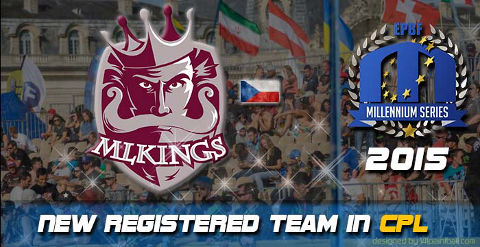 MLKings Prague play Champions Paintball League 2015