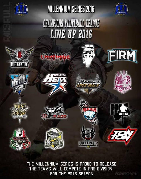 We have our CPL line up for the 2016 season!