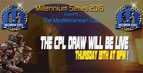 The CPL draw will be live Thursday, 19th at 8 PM!