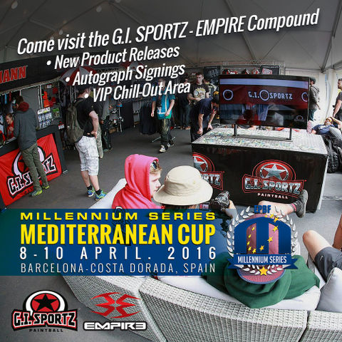 Visit GI Sportz Booth at Mediterranean Cup in Salou