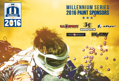 Millennium Paint Sponsors for 2016 confirmed!