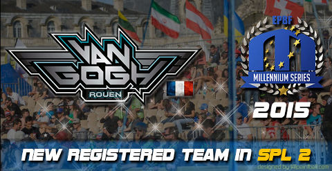 Team Van Gogh Rouen play Semiprofessional Paintball League 2 in 2015