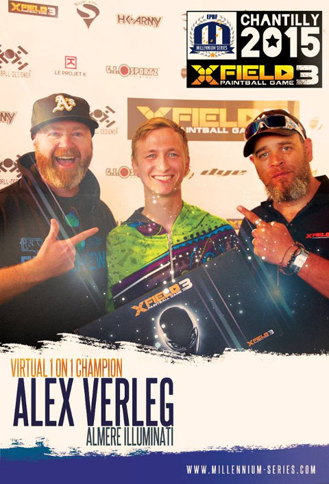 XField Paintball Games Champion - Alex Verleg, Almere Illuminati