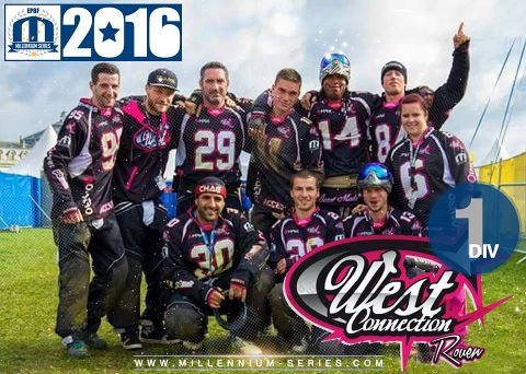 West Connection Rouen step up to D1 for the 2016 Millennium Series!