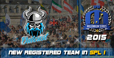 Outcast London play the Semiprofessional Paintball League 2015