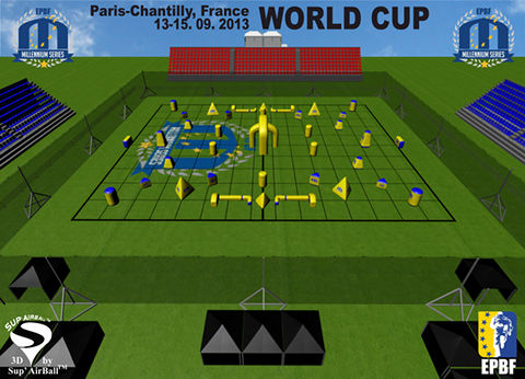 Paris-Chantilly World Cup Champions Paintball League Field VIP Grandstands and Millennium Lounge