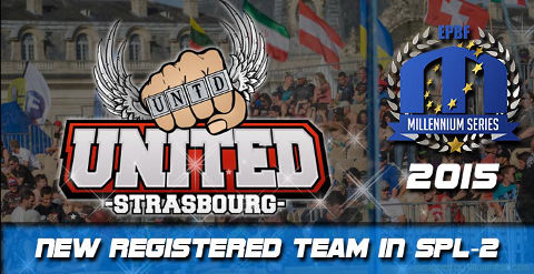 United Strasbourg play Semiprofessional Paintball League 2 in 2015